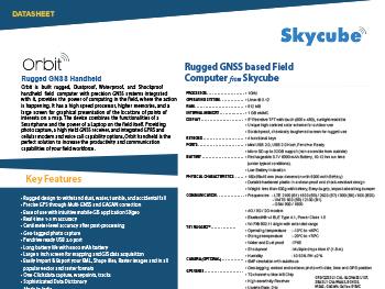 Skycube-Orbit